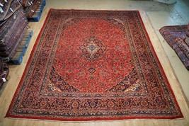 Handmade 10x13 Time-Honored Persian Kashan Keshan Rugs in Bedrooms Rug - $1,398.24