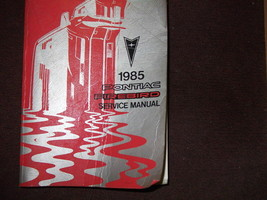1985 GM Pontiac Firebird Trans Am Service Shop Repair Workshop Manual OEM - $39.55