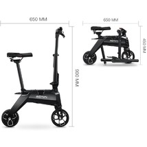 Motini Nano Folding Electric Scooter Weighs 23.5 Lbs 36v 250w Lithium Battery  image 4