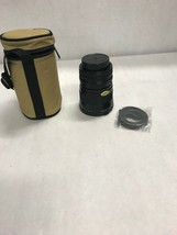 Aiistar Auto zoom lens f 28 80 MM case Vintage 2 covers toshiba filter 72mm - $49.50