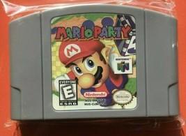 Nintendo N64 Game Mario Party Video Game Card Cartridge USA Version Not OEM - $34.60