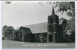 Sacred Heart Catholic Church Glenwood Minnesota Real Photo RPPC 1950s po... - $7.43