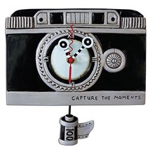 Allen Designs Vintage Camera with Film Pendulum Childs Kids Whimsical Wa... - $54.00