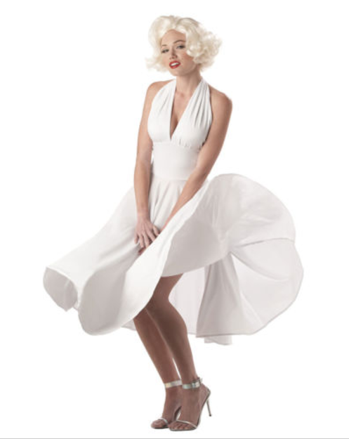 Sexy Marilyn Monroe Dress Costume