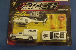 Toys Hunson NIB Police Street Heat Die Cast Play Set 5 pieces - $6.95