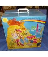 Beanie Ark Babies Cardboard Storage Container Hallmark Carry Case Display Vtg Ty - $36.98