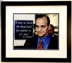 Joe Torre Autographed Hand Signed 11x14 Photo Framed w/COA New York Yankees - $149.99