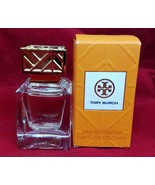 Tory Burch Eau De Parfum Women's Perfume .24oz/7ml Mini Bottle NIB - $14.01