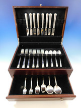 Greenbrier by Gorham Sterling Silver Flatware Set for 8 Service 56 Pieces image 2