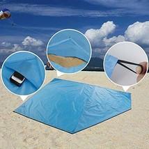 Blanket with Corner Pocket Packable Outdoor Blankets Picnic Blanket Beac... - $181,16 MXN