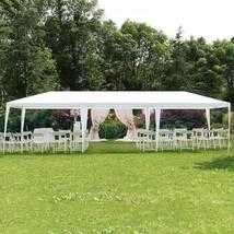Steel Frame Tent 10 x 30 Pop Up Canopy Outdoor Gazebo Party Wedding BBQ ... - $135.85