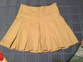 Girls-Size 16+/Cherokee skirt-pleated khaki - $10.79