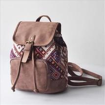 Printing Backpack Canvas School Bags For Teenagers Shoulder Bag Travel R... - $48.45 CAD