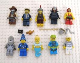 LEGO Minifigure Series Movie Lot of 10 Roman Soldier Wizard Genie Wrestler - $24.95
