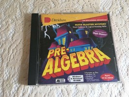 Pre- Algebra  Word Problems and Logical Thinking Skills by Davidson CD-R... - $9.88