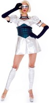 Paper Magic Robocop Babe Costume, Silver/Blue, X-Small - $98.39