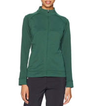 Small 4-6 Cutter & Buck Women's CB DryTec Edge Full Zip Jacket Hunter Green NEW