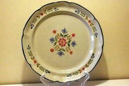 "International China 1991 Heritage American Patchwork 12"" Round Platter - $6.92"