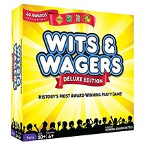North Star Games Wits & Wagers Board Game | Deluxe Edition, Kid Friendly... - $41.47