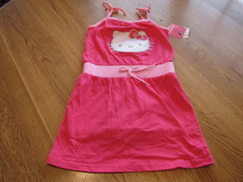 Girls Hello Kitty Romper Dress 6 CER NWT HK59056 NEW youth outfit ^^ - $21.70