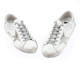 Golden Goose Women's Superstar Low Top Sneakers GCOWS590 W77 - Authentic - $441.75