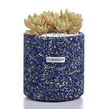 FLORASHOW Succulent Pots, Lapis Lazuli Materials 4.52 inch Succulent Pla... - €47,03 EUR