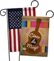 Celebrate Guitarron Cinco De Mayo - Impressions Decorative USA - Applique Garden - $30.97