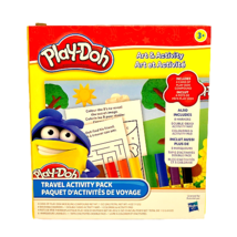 Play-Doh Travel Activity Pack Car Portable Set Coloring Book Fold Out Bo... - $14.80