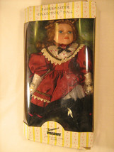 "*NEW* 12"" Porcelain Doll CONNOISSEUR Seymour MANN w/stand HAND PAINTED [... - $25.27"
