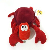 Disney Little Mermaid's Sebastian Bean Bag Plush Toy Red - $10.39