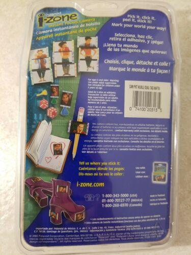 Polaroid i-Zone Point & Shoot Instant Film/Stickers Camera New Free US Shipping