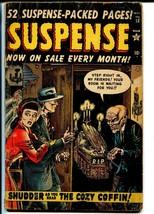 Suspense #18 1952-Atlas-pre-code horror-Krigstein-Joe Maneely-GOOD MINUS - $59.60
