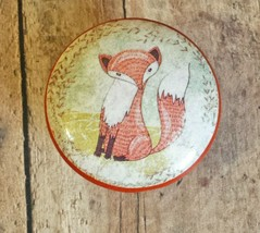 "Handcrafted Fox Knobs, Nursery Room 1.5"" Cabinet Knob, Dresser Knobs - $6.44"