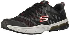 Skechers Men's TRONTOM - QUILLIN Athletic Shoes (11.5 D(M) US|Black/Red) - $56.88