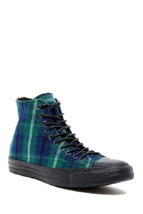 Converse Green Plaid Textile Upper Black and 50 similar items 0183fd74b
