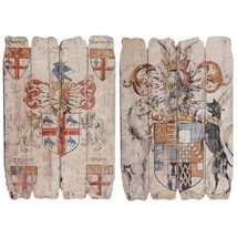 Wooden Wall Plaque, Multicolor, Set of two - $203.55