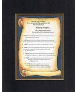 Touching and Heartfelt Poem for Inspirations - Man of Integrity Poem on ... - $16.33