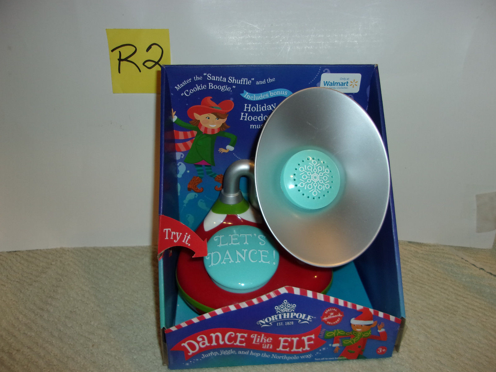 "New! Hallmark 2014 Northpole ""Dance Like An Elf"" 12 Music Loops 30 Dance Moves"