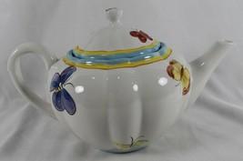 Department 56 BUTTERFLIES & DRAGONFLIES Teapot Insects Dept Bugs Beautif... - $19.34