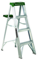 4-Ft. Step Ladder, Aluminum, Type II, 225-Lb. Duty Rating - $97.01