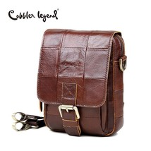 BDF Fashion Brand New Men Vintage Messenger Bag Cowhide Shoulder Cross-body - $38.64