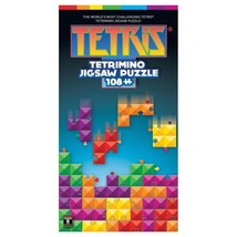 Tetris Tetrimino Jigsaw Puzzle 108 Piece  Masterpieces Puzzles Co. - $17.99
