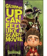 ParaNorman Animated Movie Growing Up Feels Like Scary Movie Refrigerator... - $3.99
