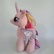 "2015 Build A Bear My Little Pony Pink Unicorn Cadence 18"" Plush - $42.56"