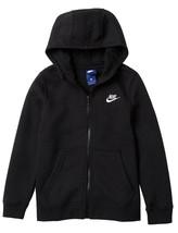 Nike Boy's Club Full Zip Long Sleeve Hoodie - NWT - $19.99