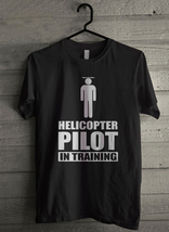 Helicopter Pilot In Training - Custom Men's T-Shirt (3361) - $19.13+