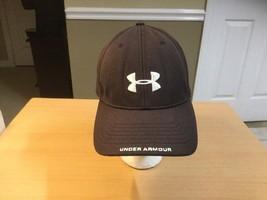 Under Armour Men cap hat stretch fit Brown 104400 - $9.05