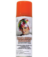 Temporary Hairspray Color Hair Color Washable Bright Colors 18001 orange - $7.96