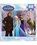 **Disney Licensed FROZEN Puzzle 48 Piece** 12 x 9  NEW and Sealed Olaf E... - $3.95