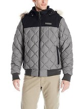 NEW Columbia Men's XL Dechen Bomber Jacket BLACK GREY WM1148-011 $200.00... - $121.54